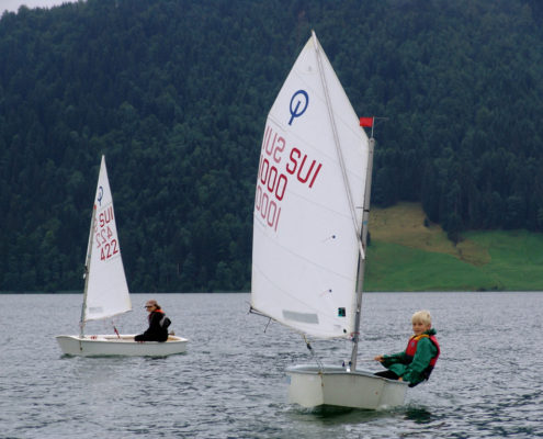 Regattatraining Optimist